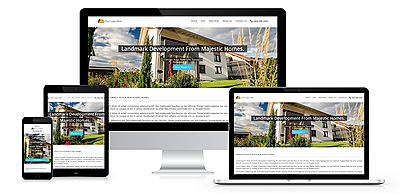 Property development websites