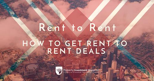 Rent to rent deals