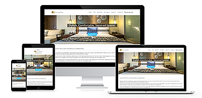 Serviced accommodation websites