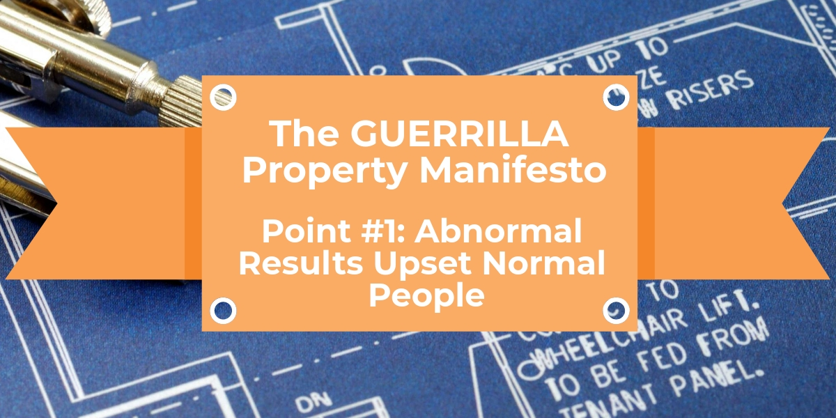 Abnormal Results Upset Normal People