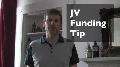 Property JV funding tip