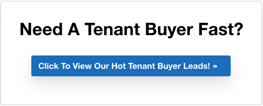 Find tenant buyers